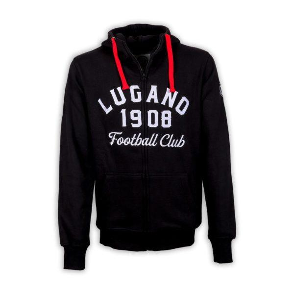 Felpa Lugano 1908 Black