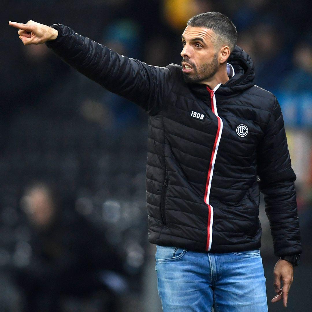 Fabio Celestini indossa la giacca Casual di FC Lugano