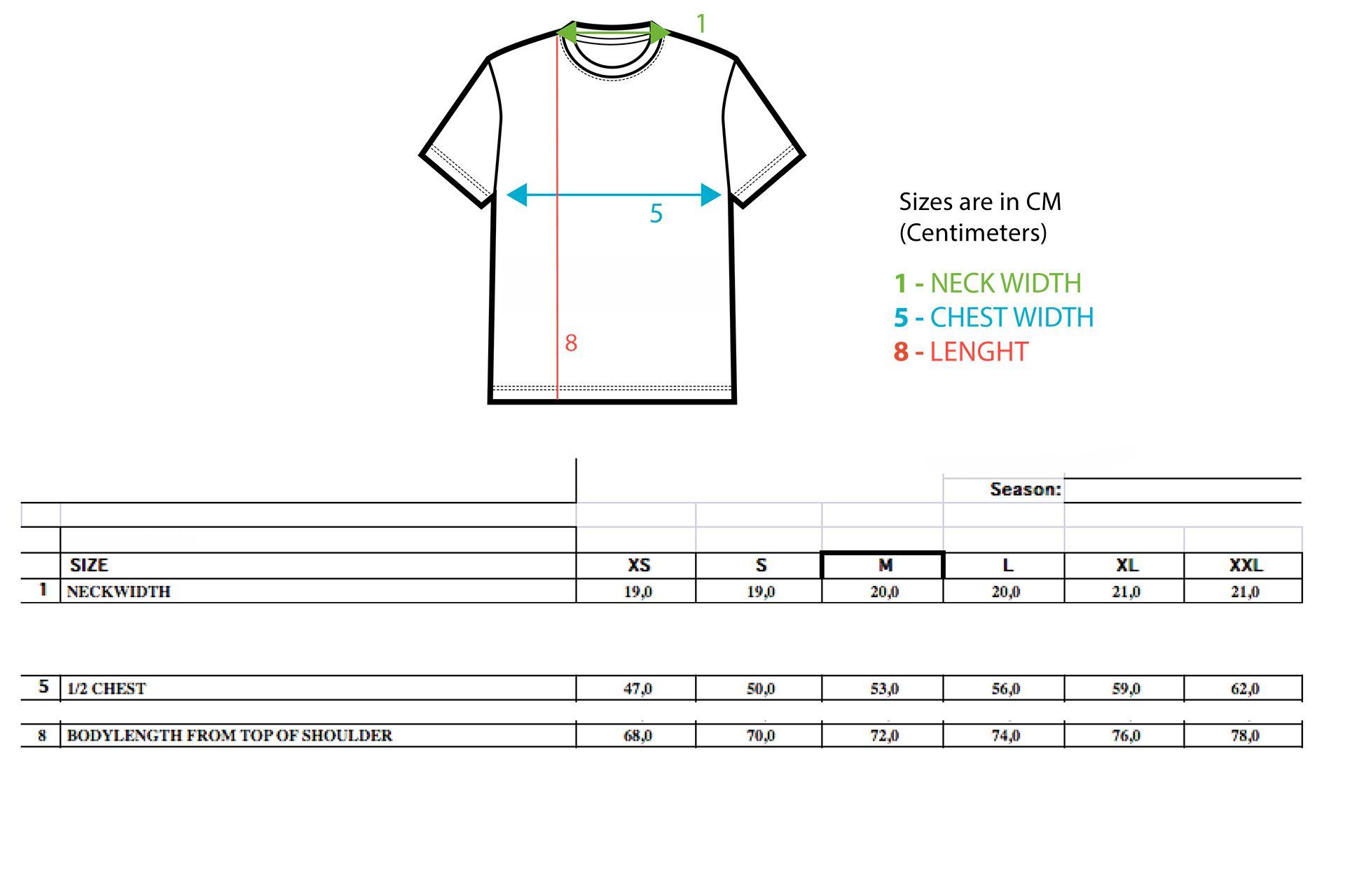 Sizing Casual Line T-Shirts Men FC Lugano